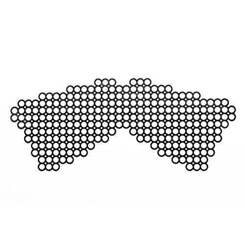 Bijoux Indiscrets Erika Masquerade - dezente Augenmaske aus Vinyl, ohne Bänder - bequem, flexibel, umdreh- und wiederverwendbar