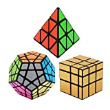 Vdealen Negro Magic Dodecahedron Megaminx + 3x 3x 3Pyramid +...
