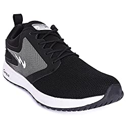 Campus Glory Black Running Shoes