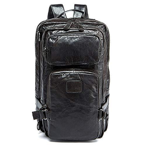 Outdoorrucksack mit großem Fassungsvermögen - Laptoptasche für Männer und Frauen für Geschäftsreisen im Freien-Black