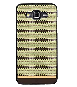 PrintDhaba Tribal Pattern D-1742 Back Case Cover for SAMSUNG GALAXY GRAND 3 (Multi-Coloured)