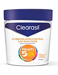 Clearasil Ultra 5 In 1 Pads 90 Count Jar (2 Pack) by Clearasil 2206657fa61