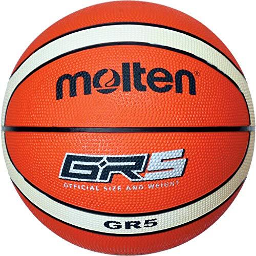 Molten Basketball, Orange/Ivory, Größe 5, BGR5-OI