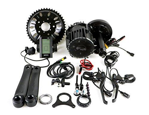 Latest BBS03 36V 750W 8fun Bafang BBSHD Mittelmotor Ebike Kit Tretlagerbreite:68mm