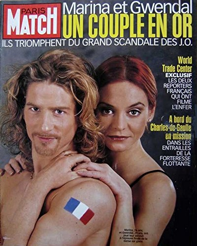 Affiche 60x80 Paris Match 2753 Marina Anissina et Gwendal Peizerat .