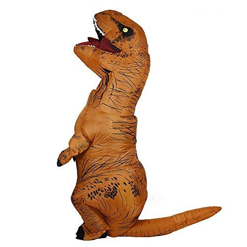 Imagen de disfraces inflables del dinosaurio de t rex para el unisex adulto de un tamaño