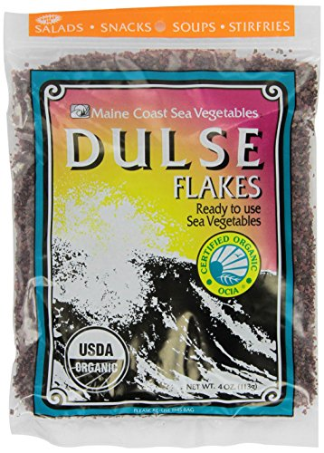 Dulse Flocken (Maine Coast Sea Vegetables - Dulse Flocken - 4 Unze.)