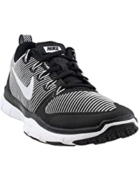 big sale b9d8d ae9eb Nike Men s Free Train Versatility Training Shoe Black White Size 10 M US