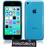 The Keep Talking Shop® New Case Silicone Cover Gel Hybrid and Screen Protector for the iPhone 5C