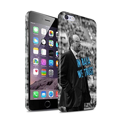 Offiziell Newcastle United FC Hülle / Glanz Snap-On Case für Apple iPhone 6+/Plus 5.5 / Pack 8pcs Muster / NUFC Rafa Benítez Kollektion Wir Vertrauen