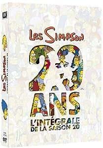 Simpson, saison 20 - Coffret 4 DVD