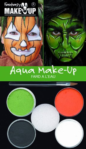 Kreul 37086 - Fantasy Aqua Make Up Picture Pack Hexe / Kürbis (Halloween Hexe Kinderschminken)