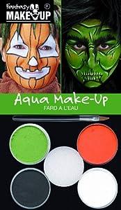 Fantasy - Pintura Facial Halloween Unisex a Partir de 3 años (37086)