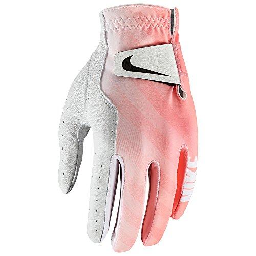 e Wlh Golf Handschuhe, weiß/schwarz/Lava Glow, L ()