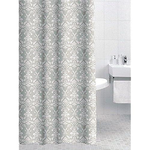 Damask Shower Curtain: Amazon.co.uk