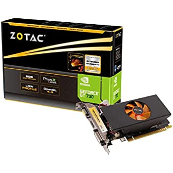 Zotac Nvidia GT 730 2GB DDR5 PCI-e Graphics Card