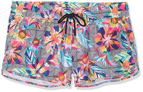 O'Neill Damen Print M und M Boardshorts  Badeshorts, Mehrfarbig (Black Graphic Small W/Pink), M -