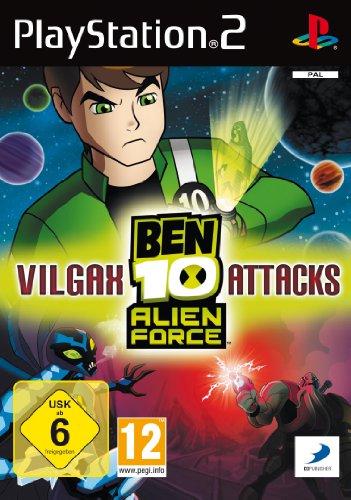 Ben 10 - Alien Force: Vilgax Attacks (Ben 10 Alien Force Ps2)