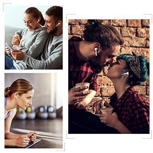 Bluetooth Kopfhörer Sport Earphones Stereo Bluetooth V5.0 In Ear True Wireless Earbuds Over Ear kabellose kopfhörer Ohrhörer HD Sound CVC 6.0 Noise Cancelling Headset mit Mikrofon für iPhone Samsung - 9