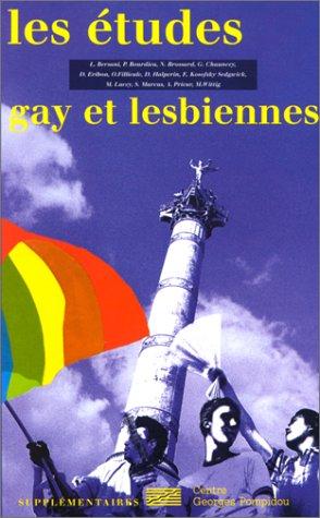 Etudes Gay et Lesbiennes (Supplémentaires) par Didier Eribon
