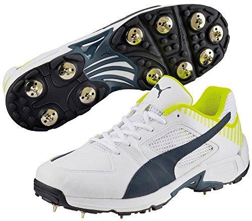 Puma Équipe Clous Chaussures De Cricket Similicuir Supérieure Chaussures Baskets Sport