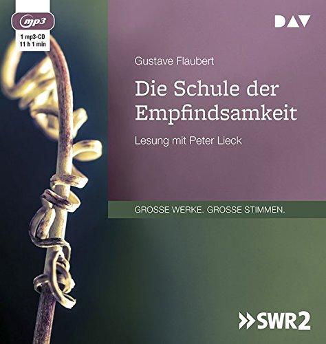 Die Schule der Empfindsamkeit: Lesung mit Peter Lieck (1 mp3-CD)
