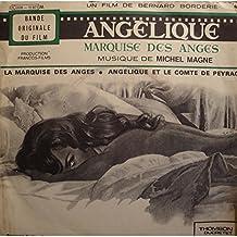 """MICHEL MAGNE marquise des anges/angélique et le comte de peyrac BO Angélique SP 7"""" VG++"""