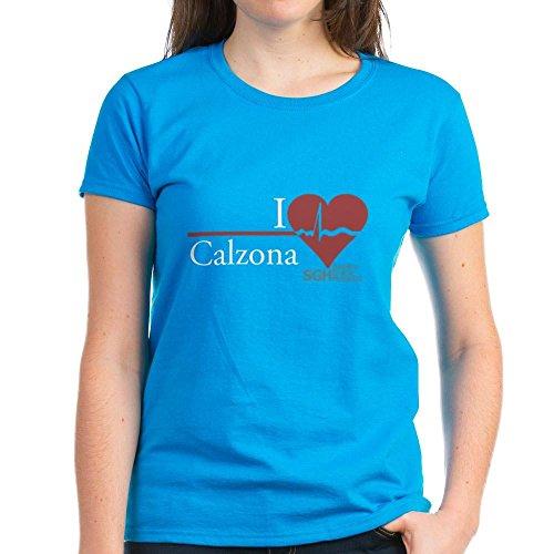ae2ec22547e5d CafePress Heart Calzona - Grey s Anatomy Women s Dark T-Sh - Womens Cotton  ...