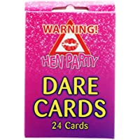 Great Fun Hen Party Night Girls Night Out Dare Cards