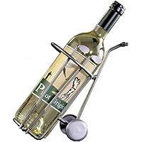 Golf & More Golfcaddy als Weinflaschenhalter
