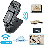 Toughsty 8GB Mini Wifi IP Camera DV Camcorder Video Recorder Support iPhone Android APP Remote View