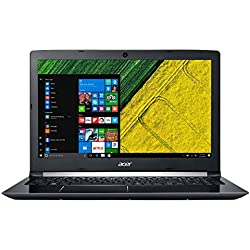 Acer Aspire 5 A517-51-5577 - Ordenador portátil de17.3 HD+ (Intel Core i5-8250U, 8 GB RAM, 1000 GB HDD, UMA, Windows 10 Home) Negro - Teclado QWERTY Español