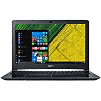 "Acer Aspire 5 A515-51G - Ordenador portátil 15.6"" HD (Intel Core i7-7500U, 8 GB de RAM, HDD de 1 TB, Nvidia GeForce MX130 de 2 GB, Windows 10 Home) negro - Teclado QWERTY Español"