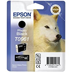 Epson T0961 Cartouche d'encre d'origine Noir