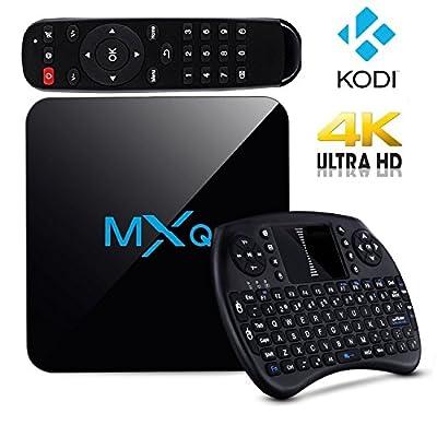 Tronic MXQ TV box Android 6.0 Quad Core fully Loaded 4K*2K,Amlogic S905X Free Mini Keyboard Better than Tonbux