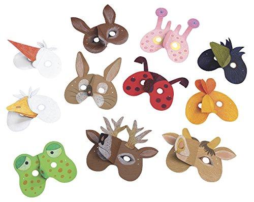 Wehrfritz 076980 Sachenmacher Masken Einheimische Tiere