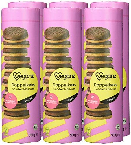Veganz Doppelkeks, 6er Pack (6 x 330 g) - 2