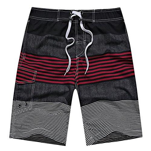 YOUJIA Pantaloncini Da Surf Casual Boxer Da Mare Shorts Per Uomo