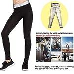 NHEIMA-Pantaloni-Sauna-Dimagranti-Leggings-Anticellulite-Donna-Fitness-Leggings-Termici-Vita-Alta-in-NANOTECHNOLOGIE-per-Sudar-Effetto-Snellente-e-Push-Up-Ideale-per-Yoga-Corsa-Palestra-Sport