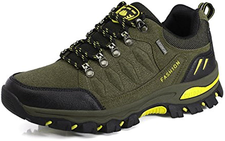 Zapatillas de Senderismo Hombre Mujer Outdoor Impermeables Trekking Sneakers 35-45  -