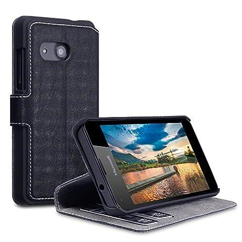 Etui Cuir Lumia 550 - Microsoft 550 Case, Terrapin Étui Housse en
