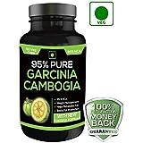 PURE GARCINIA CAMBOGIA 95% HCA 800MG 60 VEG CAPSULES 100% Natural & Pure Maximum Potency 100% Lifetime Money Back Guarantee - Order Risk Free!