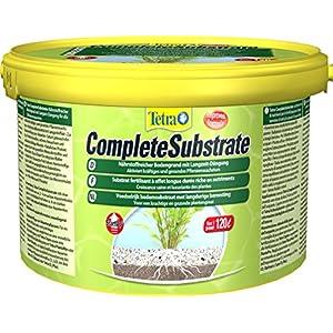 [Gesponsert]Tetra Complete Substrate für Pflanzenwachstum und weniger Wasserbelastung Neueinrichtung von Aquarien Aquarienkies, 5 kg Eimer