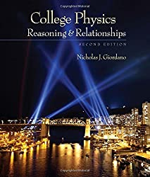 College Physics: Reasoning and Relationships (Textbooks Available with Cengage Youbook) by Nicholas Giordano (2012-01-01)
