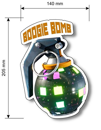 FortNite BOOGIE BOMB VINYL Sticker