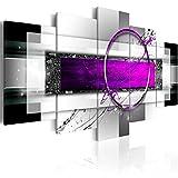 Cuadro en Lienzo 100x50 cm- 3 tres colores a elegir - 5 partes - Impresion en calidad...