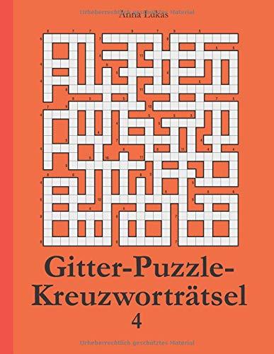 Gitter-Puzzle-Kreuzworträtsel 4 -