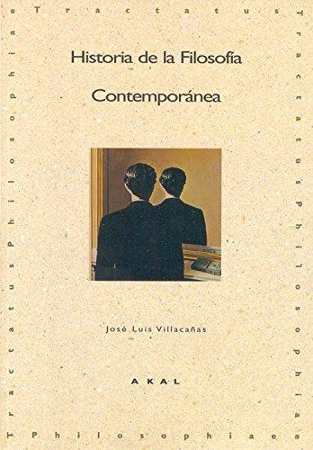 Historia de la Filosofía Contemporánea (Tractatus philosophiae)