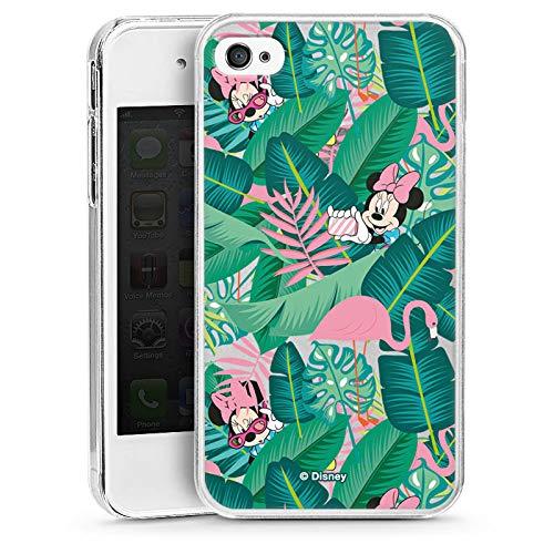 DeinDesign Hülle kompatibel mit Apple iPhone 4 Handyhülle Case Minnie Mouse Disney Offizielles Lizenzprodukt