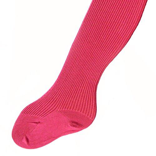 Babystrumpfhose 100% Baumwolle uni viele Farben, Farben alle:pink;Größe:86/92